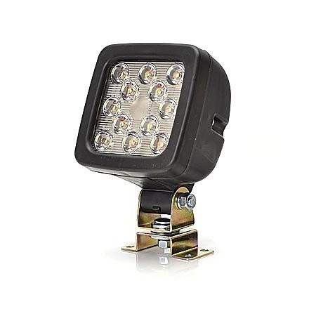 Lampa utilaje de lucru patrat 12LED 12v-24v