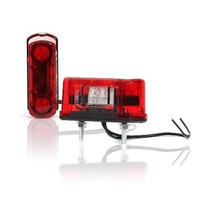 Lampa numar circulatie cu LED 12V-24V