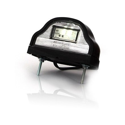 Lampa numar circulatie negru cu LED