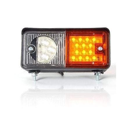 Lampa semnalizare pozitie fata stanga cu LED