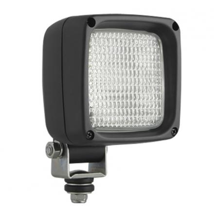 Lampa utilaje de lucru patrat cu bec WS