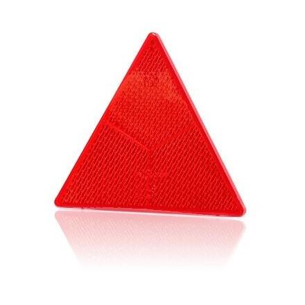 Reflectorizant rosu triunghi