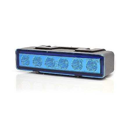 Lampa flash LED BLUE