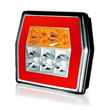Lampa remorca spate hexagon LED 121