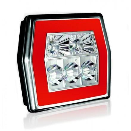 Lampa remorca spate hexagon LED 120