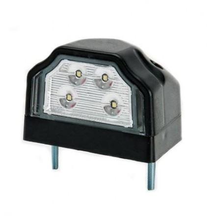 Lampa numar spate cu LED FT negru
