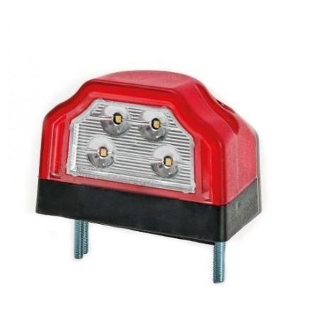 Lampa numar spate cu LED FT rosu