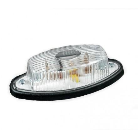 Lampa pozitie ovala cu bec alb