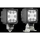 Lampa utilaje de lucru patrata 12LED 12v-24v