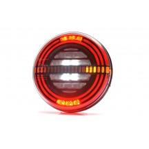 Lampa rotunda spate LED-dinamic