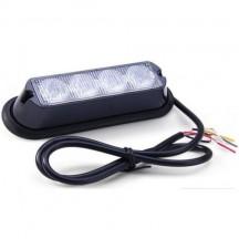 Lampa avertizare stroboscop LED RED