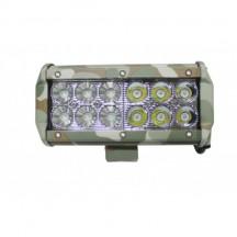 Proiector ledbar camuflaj 12LED 12V-24V  165mm